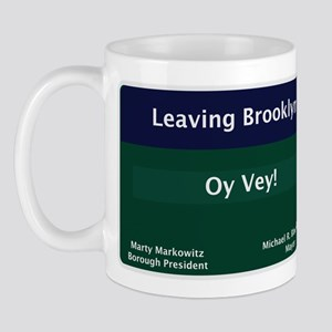Leaving Brooklyn Mug