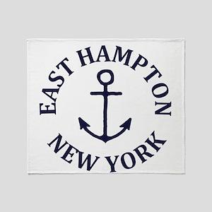 Summer East Hampton- New York Throw Blanket