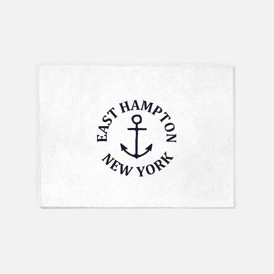 Summer East Hampton- New York 5'x7'Area Rug