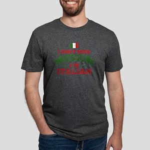 No Recipes I'm Italian Mens Tri-blend T-Shirt