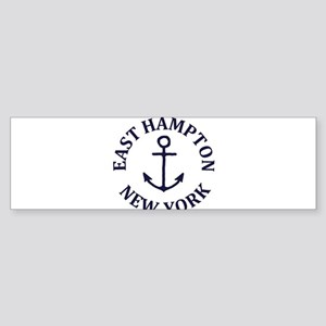 Summer East Hampton- New York Bumper Sticker
