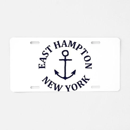 Summer East Hampton- New Yo Aluminum License Plate