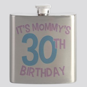 It's Mommy's 30th Birthday Flask