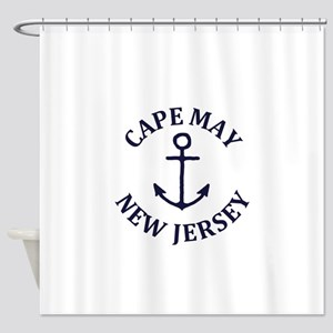Summer cape may- new jersey Shower Curtain