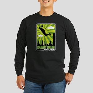 Base Jumping Long Sleeve Dark T-Shirt