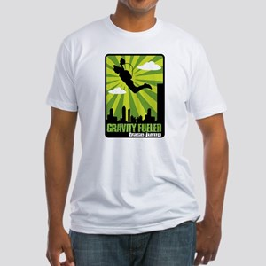 Base Jumping Fitted T-Shirt