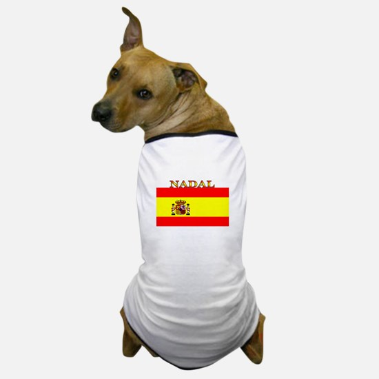 Nadal Spain Spanish Flag Dog T-Shirt