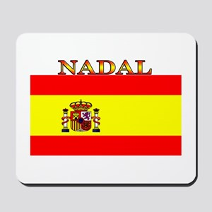 Nadal Spain Spanish Flag Mousepad