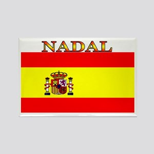 Nadal Spain Spanish Flag Rectangle Magnet