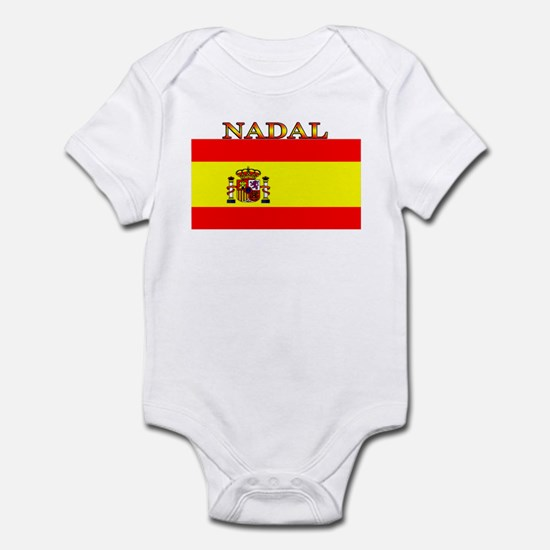 Nadal Spain Spanish Flag Infant Bodysuit