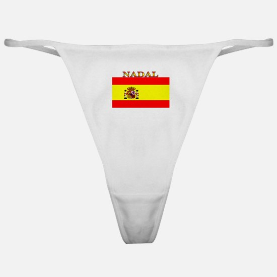 Nadal Spain Spanish Flag Classic Thong