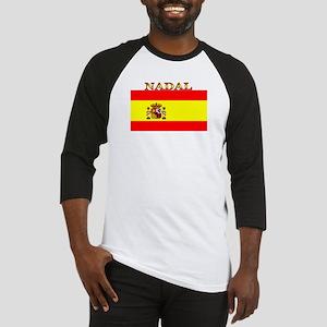 Nadal Spain Spanish Flag Baseball Jersey