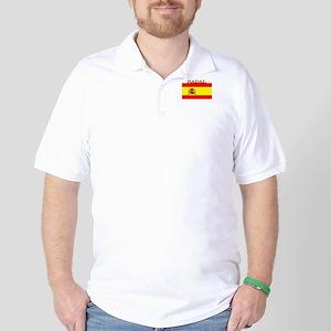 Nadal Spain Spanish Flag Golf Shirt