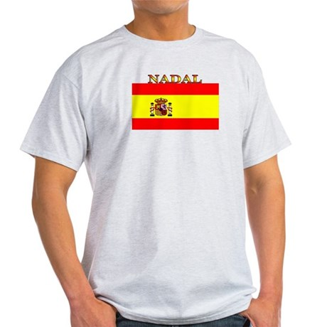 Nadal Spain Spanish Flag Light T-Shirt