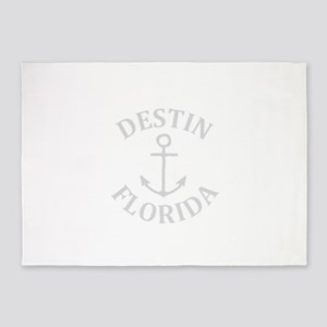 Summer destin- florida 5'x7'Area Rug