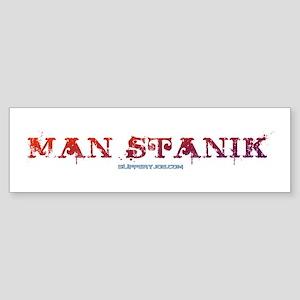Man Stank Bumper Sticker