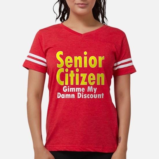 Senior Citizen Discount Women's Dark T-Shirt