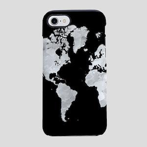 Design 70 world map iPhone 8/7 Tough Case