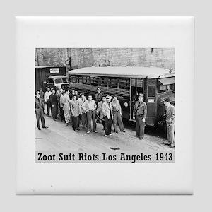 Zoot Suit Tile Coaster