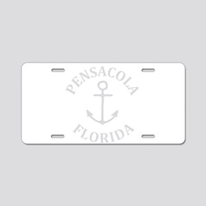 Summer pensacola- florida Aluminum License Plate