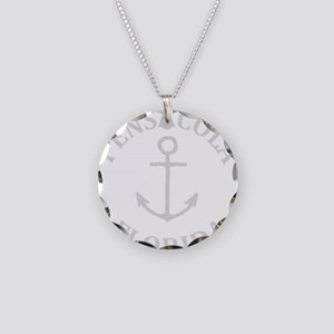 Summer pensacola- florida Necklace Circle Charm