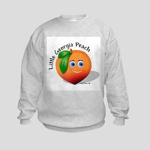 Little Georgia Peach Kids Sweatshirt