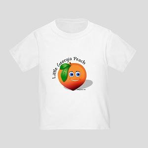 Little Georgia Peach Toddler T-Shirt