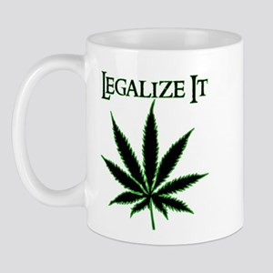 Legalize It Marijuana Mug
