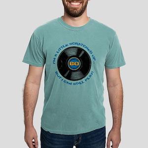 Scratched Record 60th Bi Mens Comfort Colors Shirt