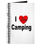 I Love Camping Journal