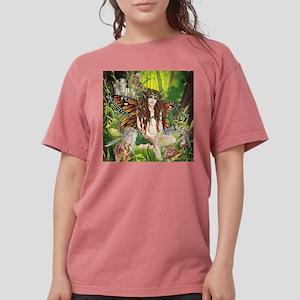 Terra-Daughter of Gaia Faerie White T-Shirt