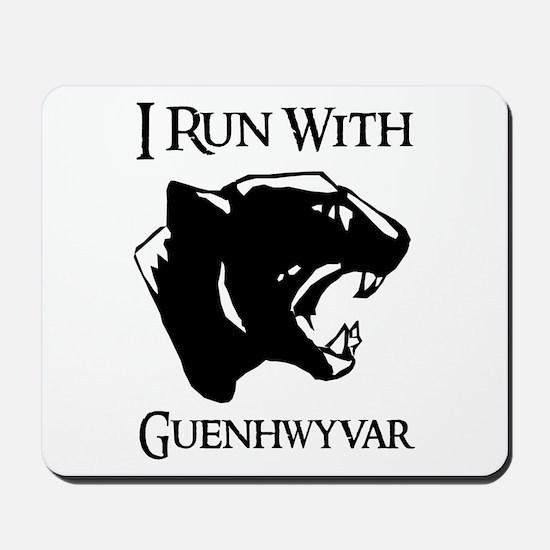 I Run With Guenhwyvar Mousepad