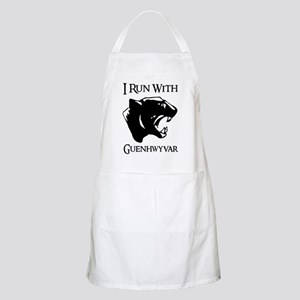 I Run With Guenhwyvar BBQ Apron