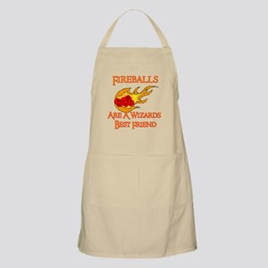 Fireballs Are A Wizards Best Friend BBQ Apron