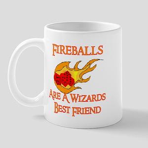 Fireballs Are A Wizards Best Friend Mug