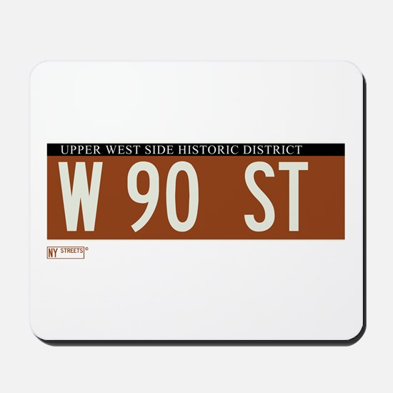 90th Street in NY Mousepad