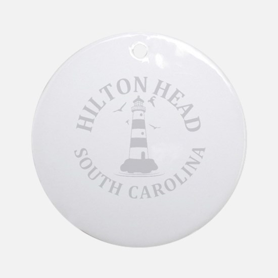 Cute Hilton head island Round Ornament