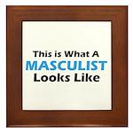Masculist Framed Tile