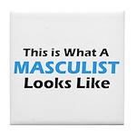 Masculist Tile Coaster