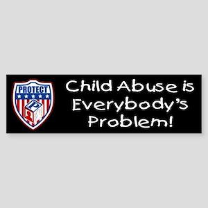 Everybody's Problem PROTECT Bumper Sticker