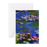 Claude monet Greeting Cards (10 Pack)