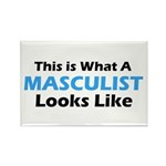 Masculist Rectangle Magnet (10 pack)