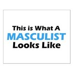 Masculist Small Poster