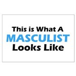 Masculist Large Poster