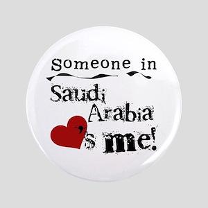 "Saudi Arabia Loves Me 3.5"" Button"