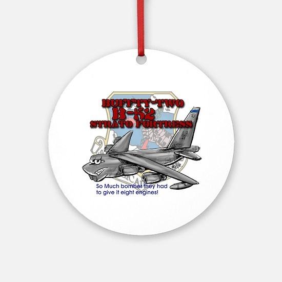 B-52 Strato Fortress Ornament (Round)