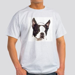 Boston Terrier Ash Grey T-Shirt