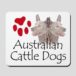 Australian Cattle Dogs Mousepad