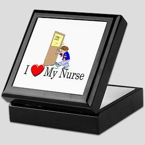 I Love My Nurse Keepsake Box