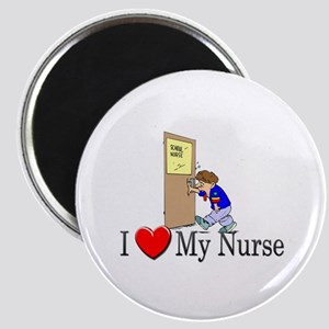 I Love My Nurse Magnet